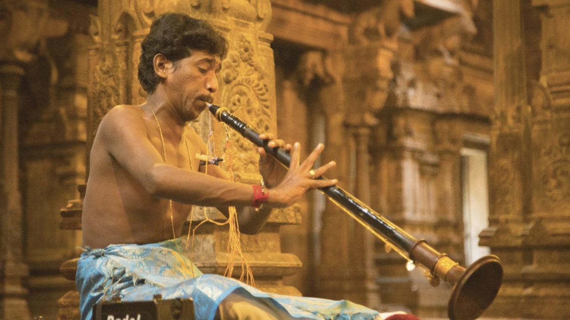 Schlangenbeschwörer mit Flöte, Sri Lanka individuelle