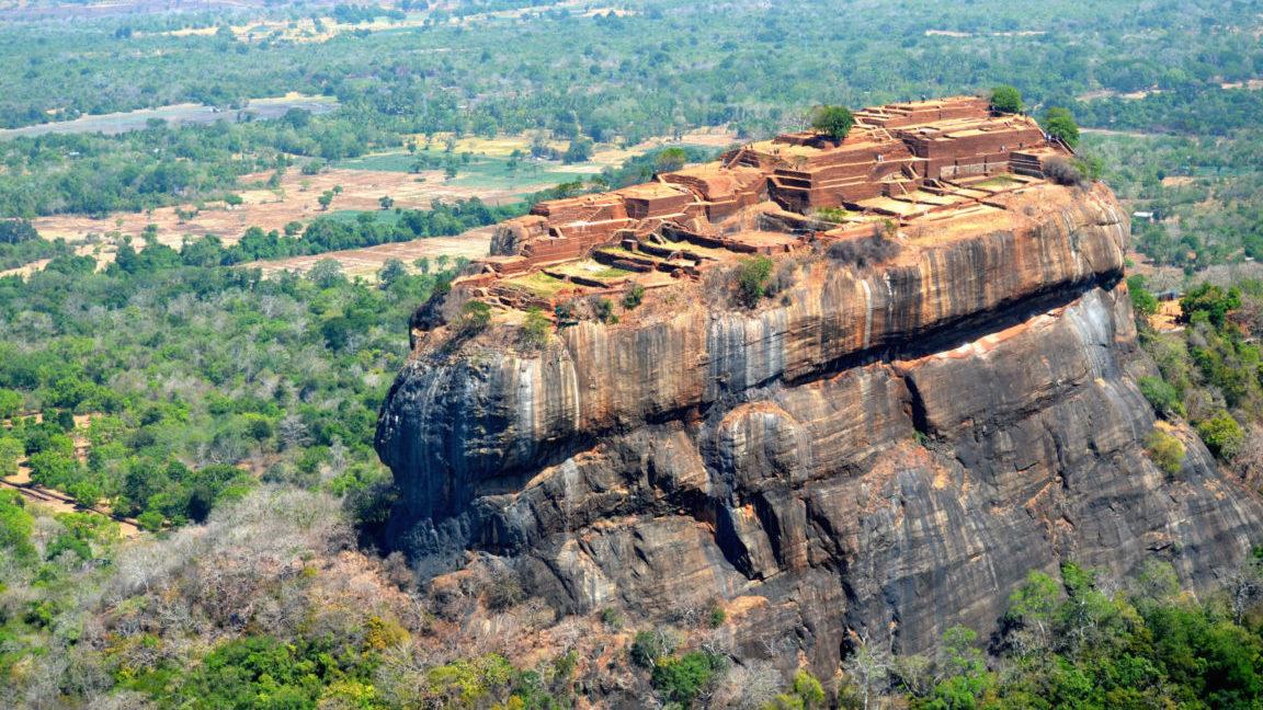 Sigiriya Tempel auf Sri Lanka