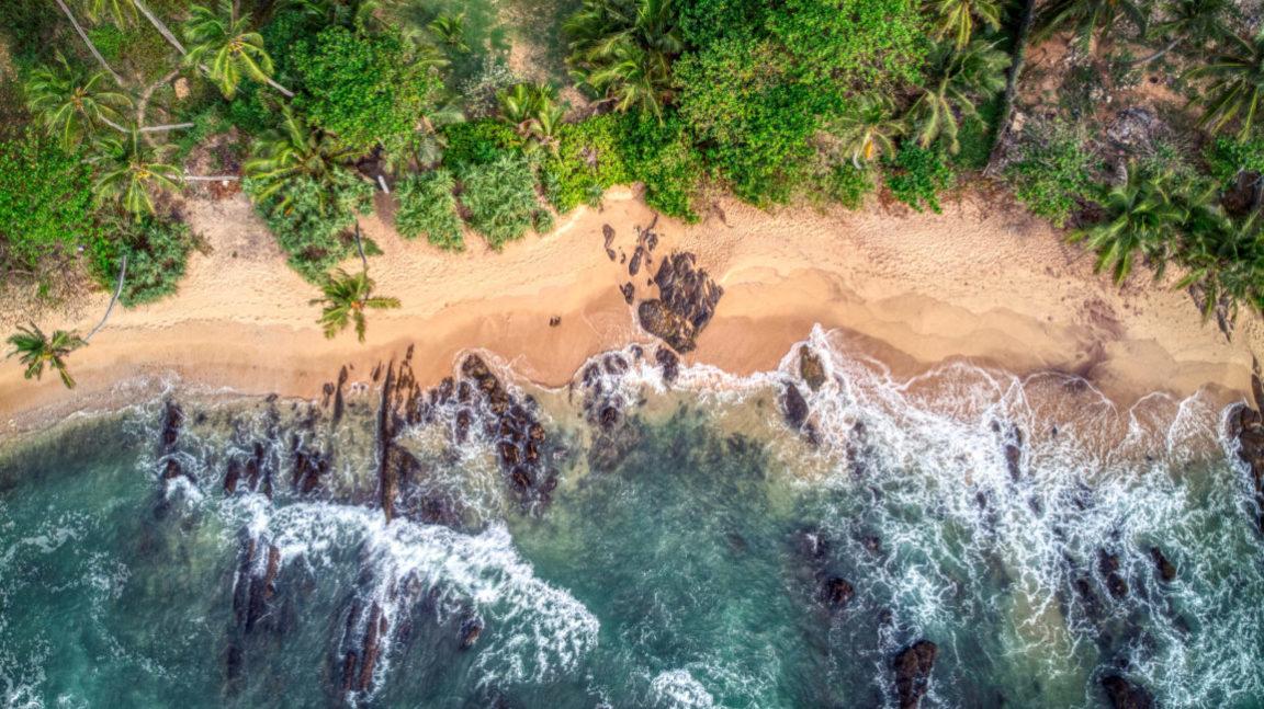 Sri Lanka Strandbild