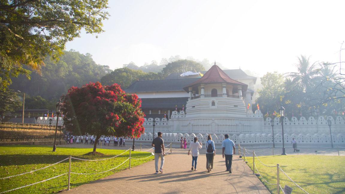 Tempel Kandy während Sri Lanka Reise