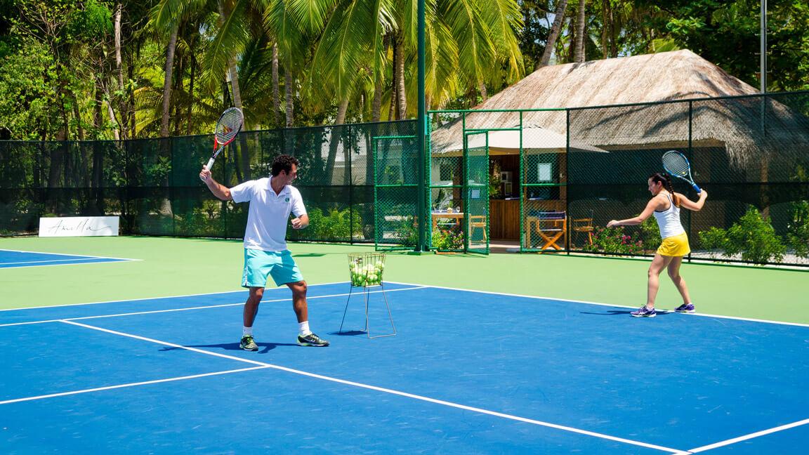 Amilla Fushi Tennis Stunden