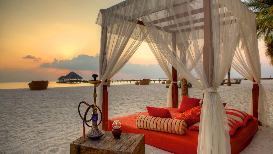 Traum-Luxusurlaub auf den Malediven