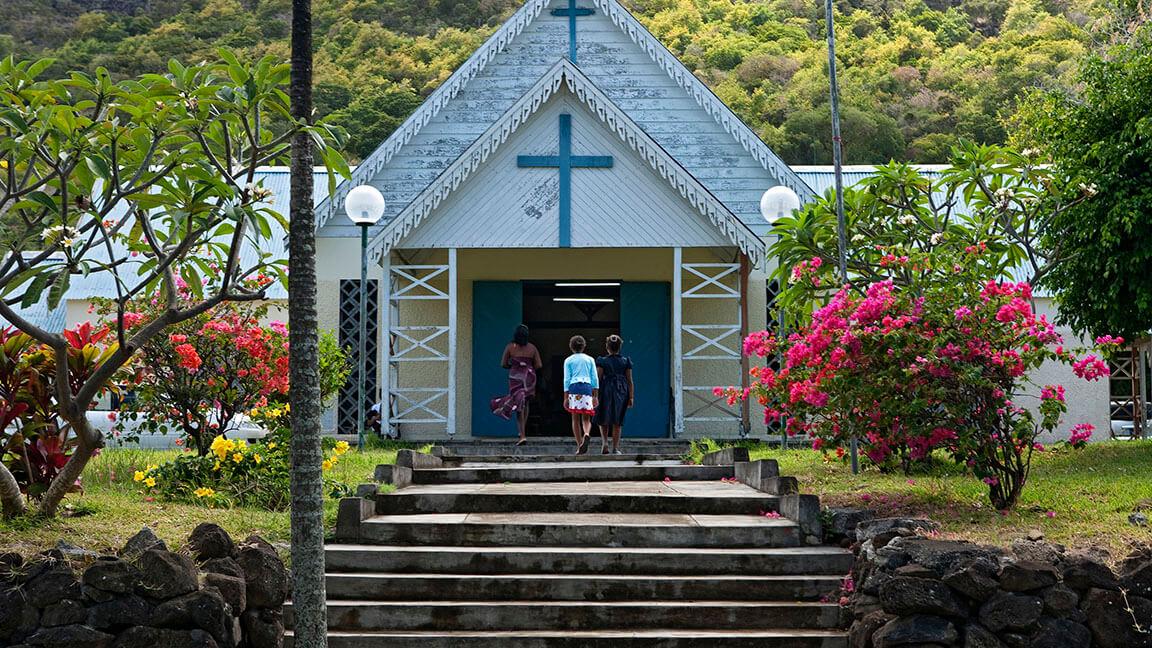 Kapelle auf Mauritius