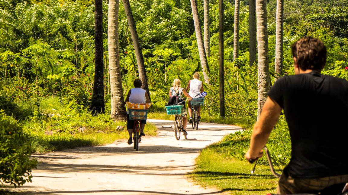 Seychellen mit dem Rad erkunden