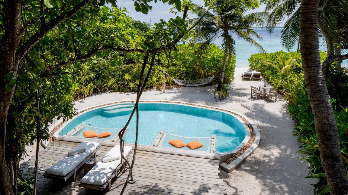 Soneva Fushi - Villa mit Pool