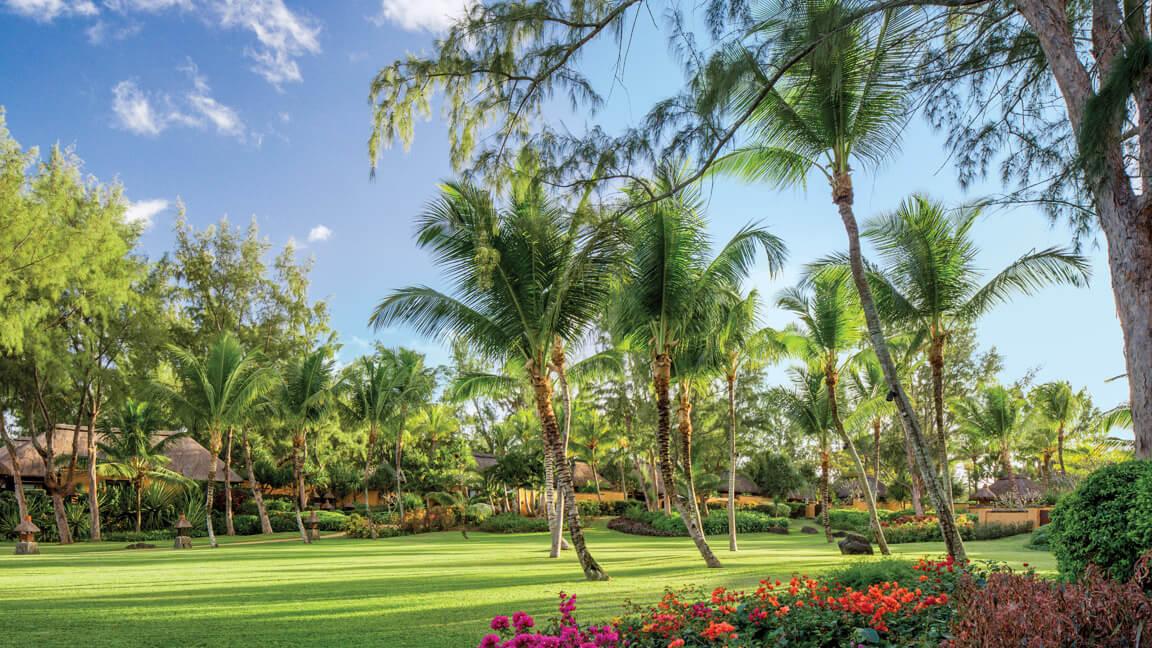 The Oberoi Mauritius - Garten