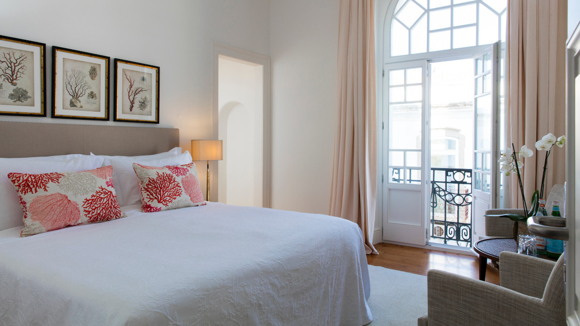 Doppelzimmer im Hotel Grand House, Algarve, Portugal