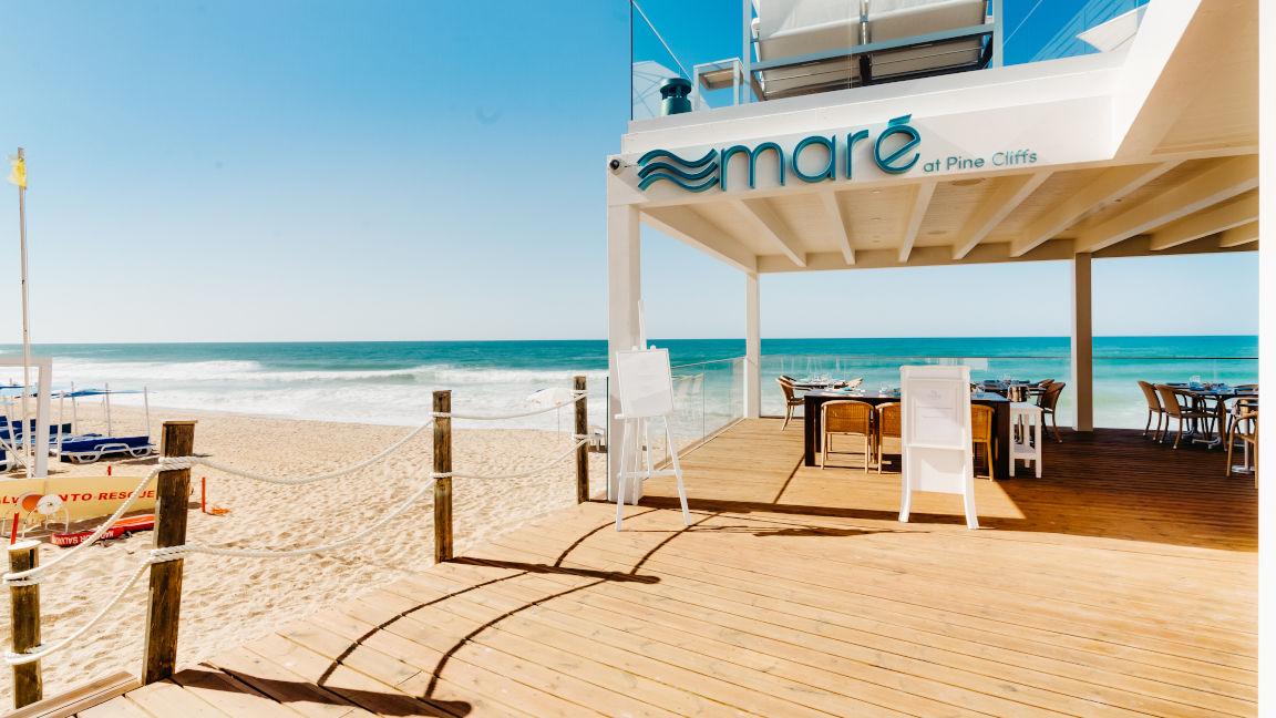 Restaurant Maré, Beachclub Pine Cliffs Resort, Algarve