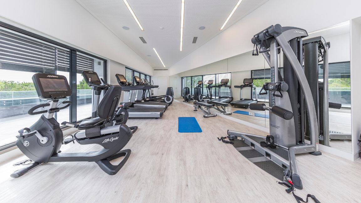 Fitnessstudio Hotel Praia Verde, Algarve, Portugal
