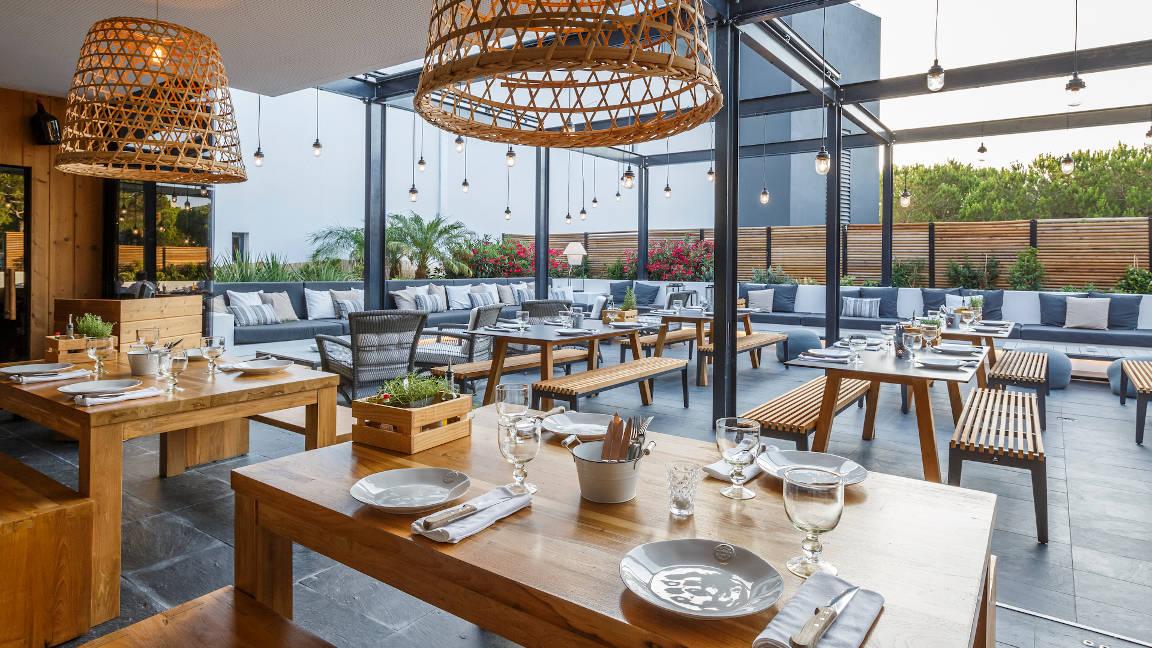Restaurant A Terra im Hotel Praia Verde