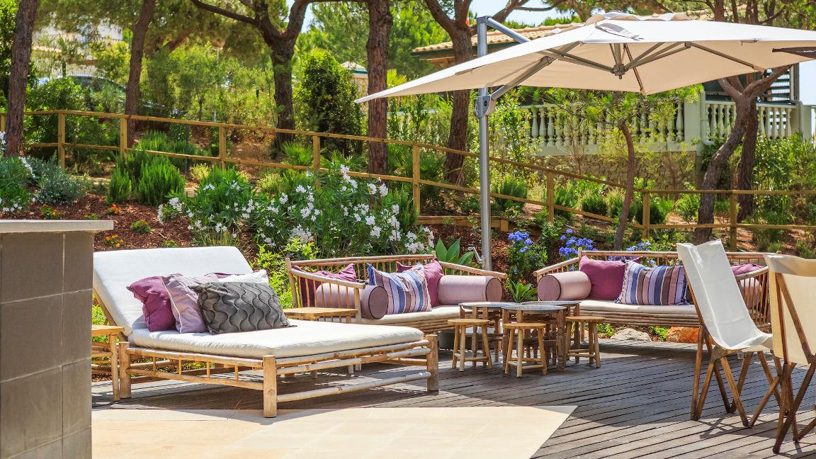 Hotel Praia Verde, Terrasse Poolbar