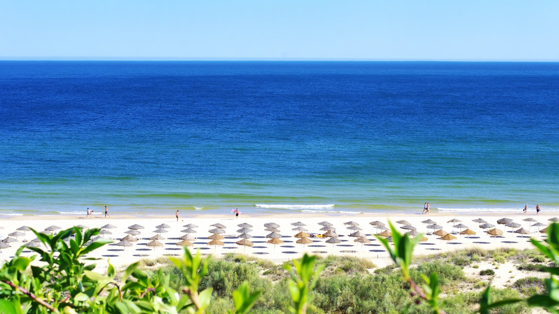 Strand vor Hotel Praia Verde, Algarve