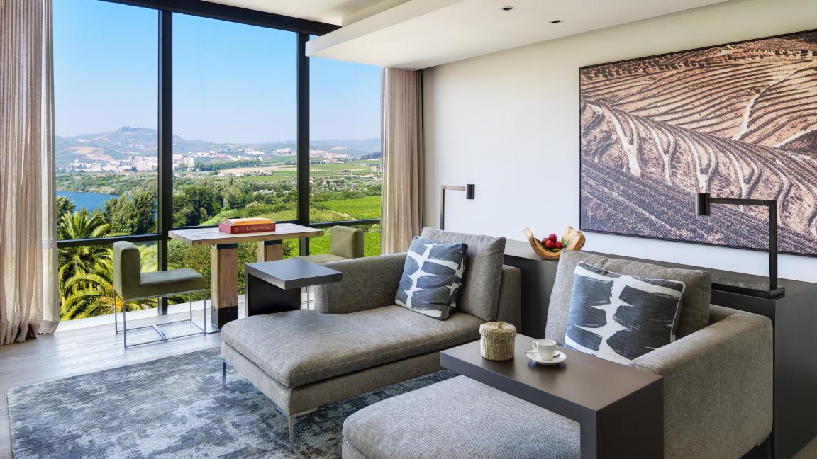 Quinta Panoramasuite im Hotel Six Senses Douro Valley, Portugal