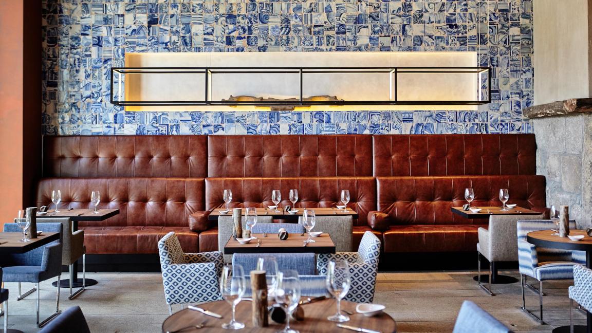 Restaurant im Hotel Six Senses Douro Valley, Portugal