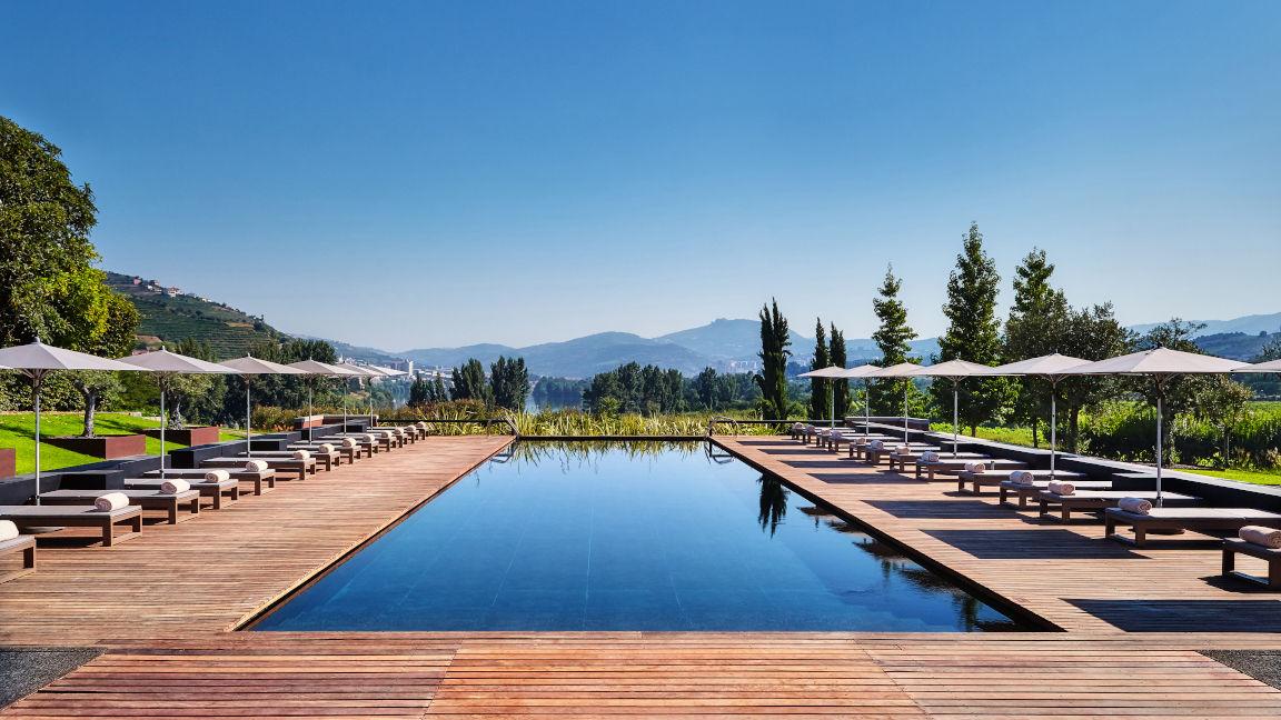 Pool Hotel Six Senses Douro Valley, Portugal