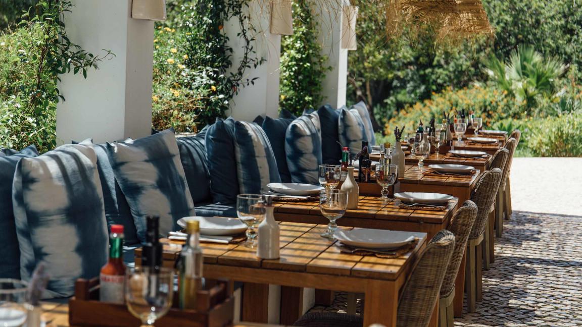 Vila-Monte Restaurant-Terrasse
