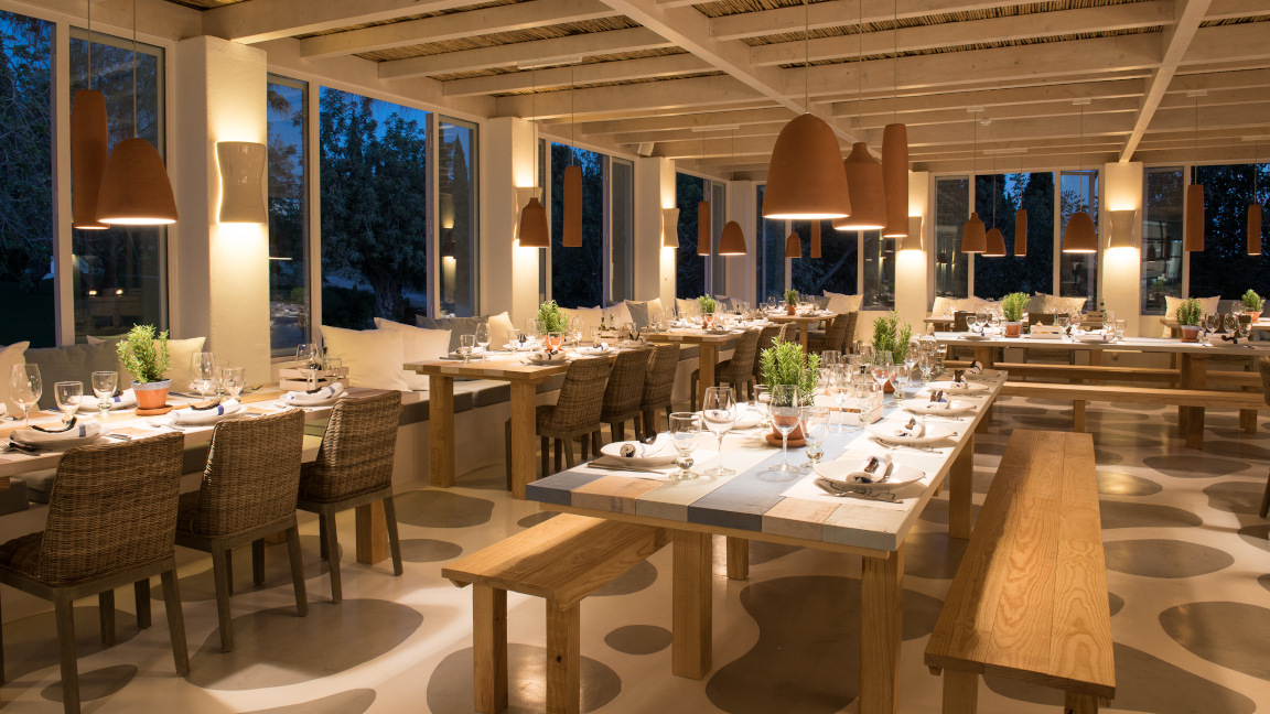 Restaurant im Vila Monte Farmhouse, Algarve, Portugal