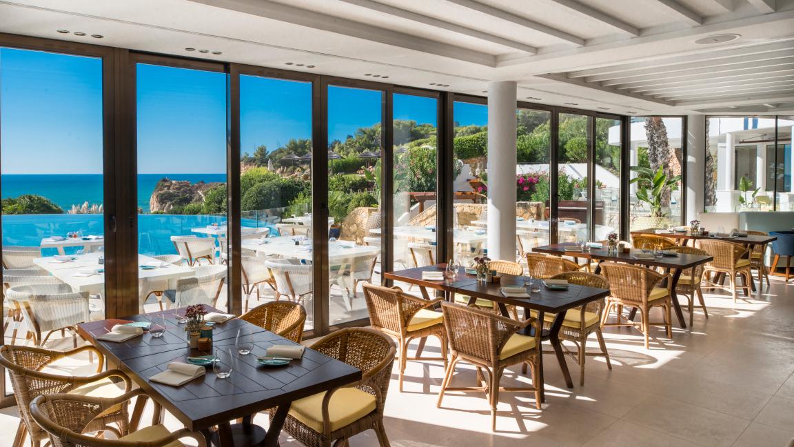 Restaurant Clubhouse im Vila Vita Parc, Algarve, Portugal
