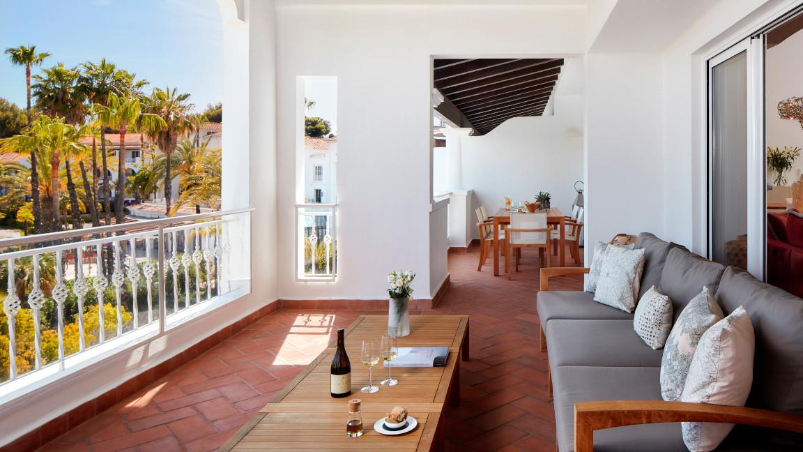 Vila-Vita-Parc-Suites Terrasse
