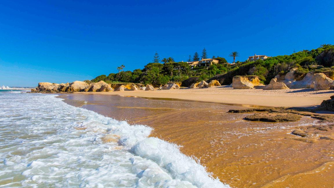Vila Joya Algarve vom Strand aus