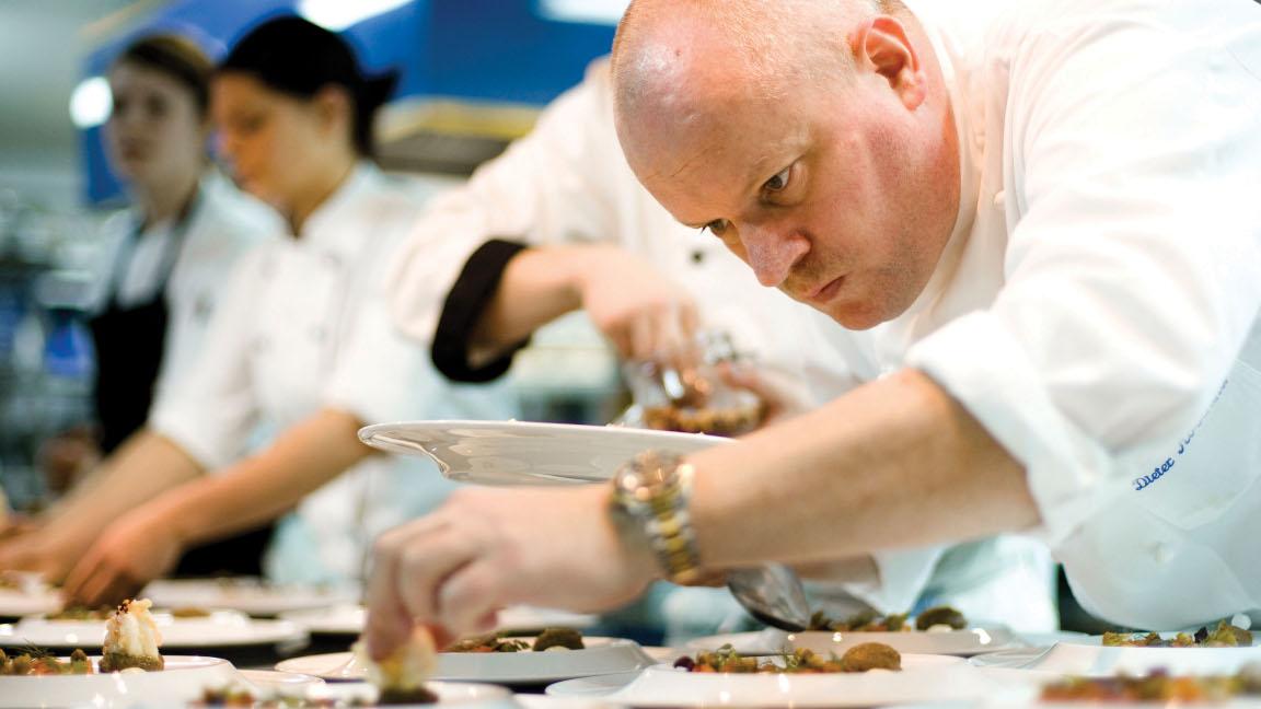 Dieter Koschina, Chef Vila Joya