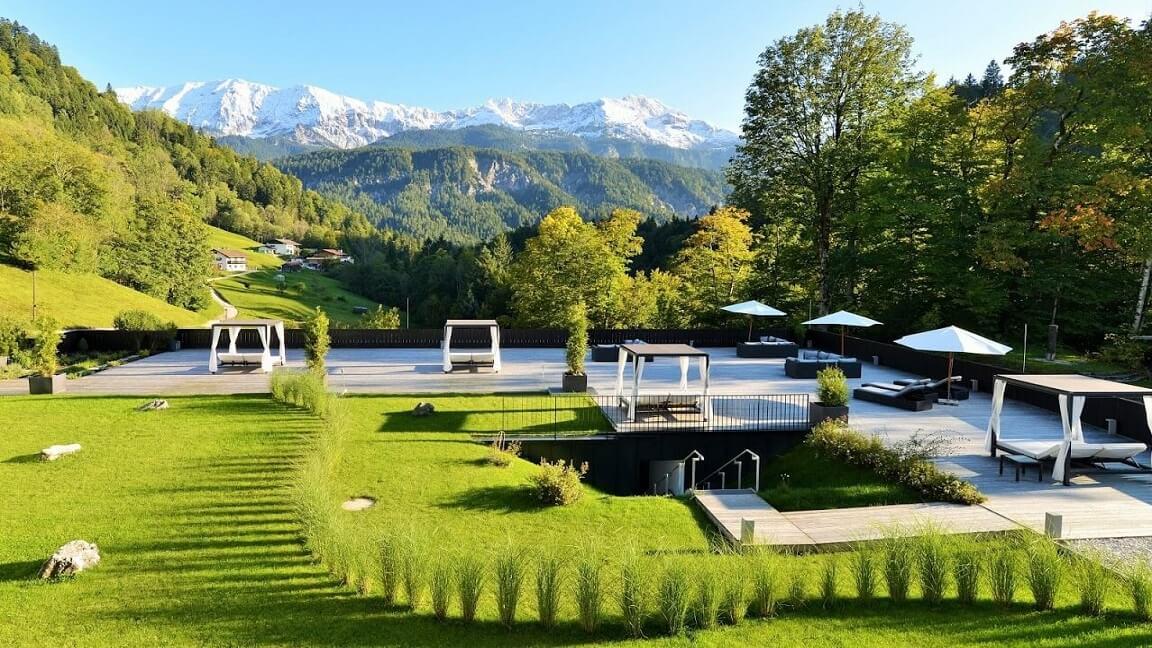 Relaxen im Boutique-Hotel Garmisch-Partenkirchen