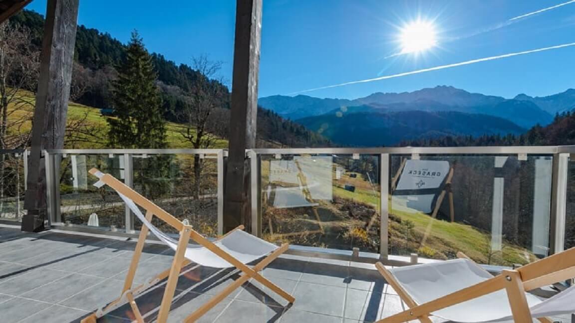 Sonnetanken im Wellnesshotel in Garmisch-Partenkirchen