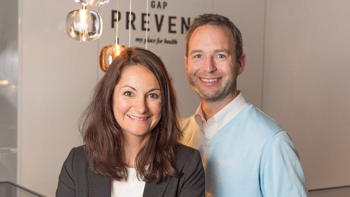 Dr. Sylvia Weingart und Dr. Vincens Weingart im GAP PREVENT