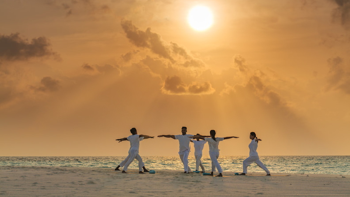 LUX-North-Male-Atoll-Sandbank-Yoga