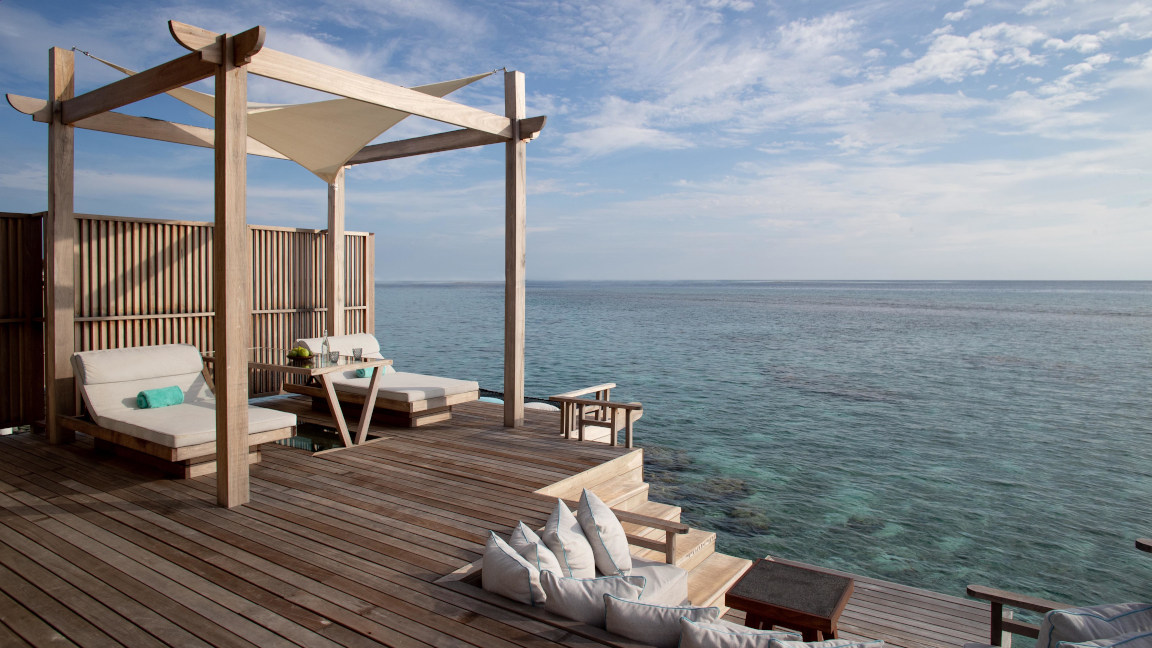 Ocean Pool Suite - OZEN RESERVE BOLIFUSHI Resort, Malediven