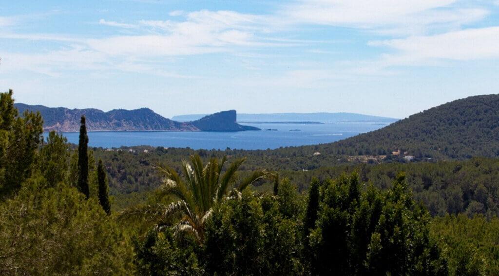 Villa Agnes auf Ibiza, Panorama