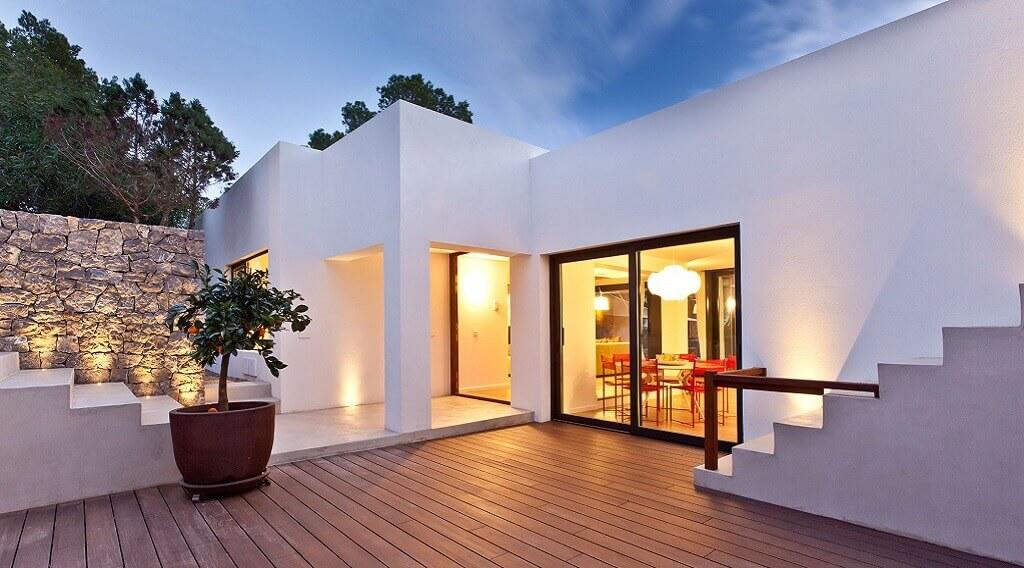 Villa Agnes auf Ibiza, Aussenansicht