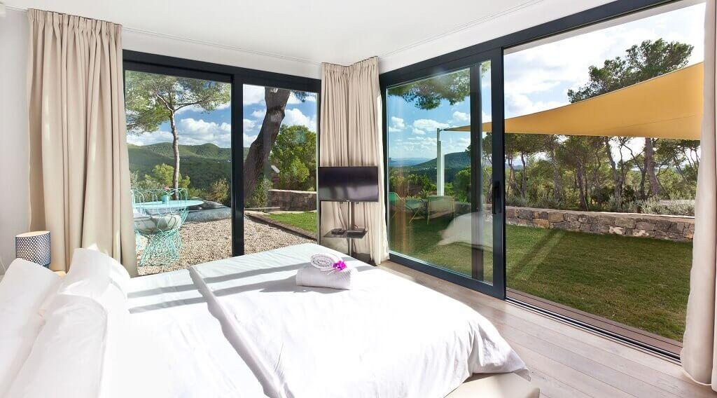 Villa Agnes auf Ibiza, Schlafzimmer