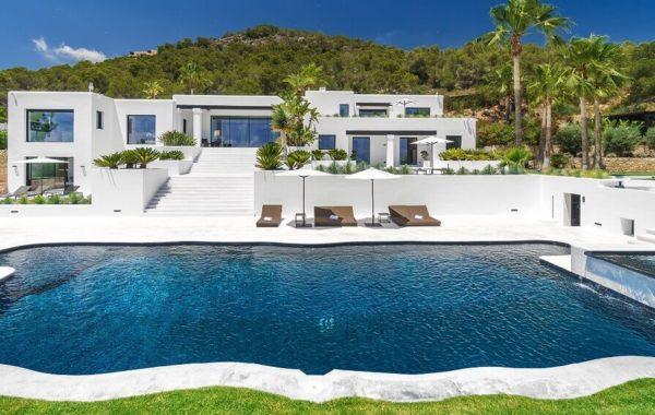 Villa Blanca auf Ibiza, Aussenansicht