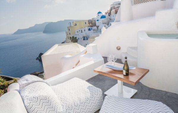 Suitevilla Earth auf Santorini
