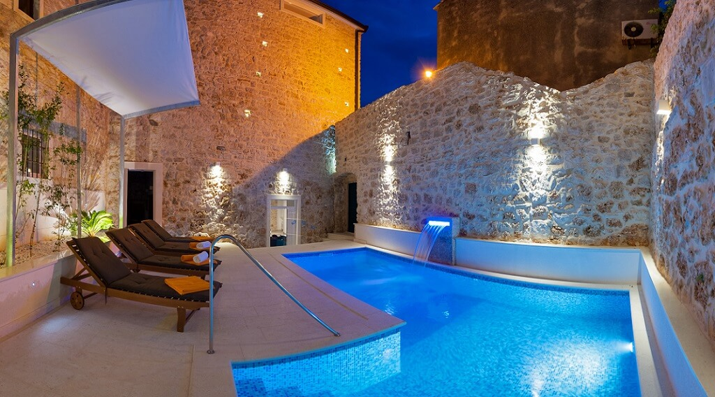 Villa Heli Kroatien, Pool