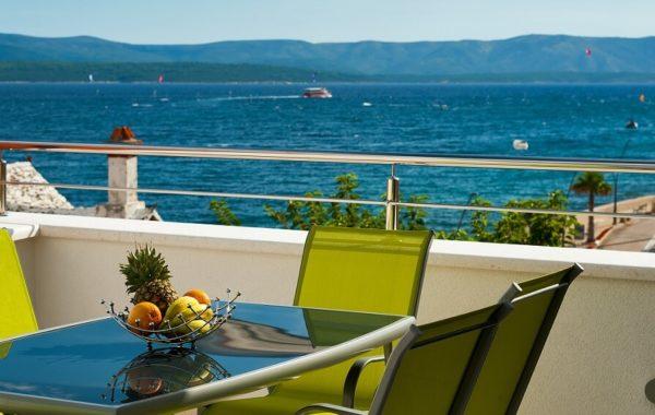 Meerblick von Villa Heli auf Brac