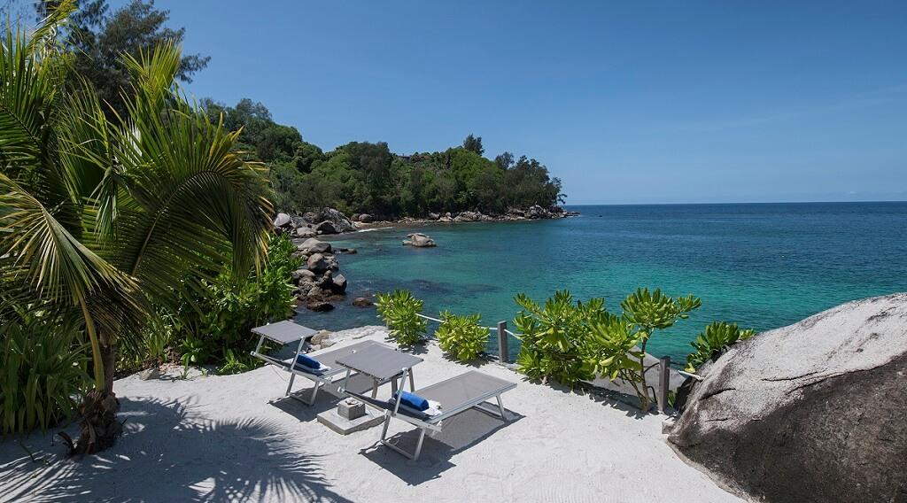 Villa Sea Monkey Seychellen Terrasse
