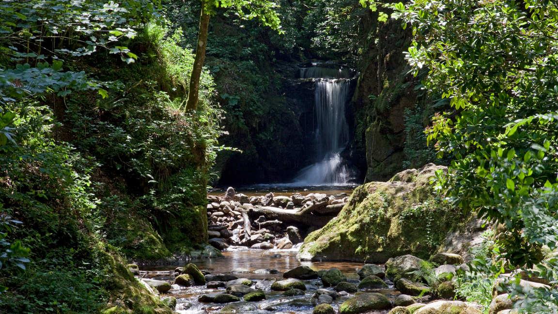 Brenners Park - Wasserfall in Geroldsau Schwarzwald
