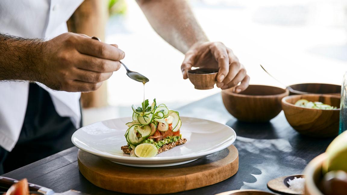 Cocoa Island Malediven Gastronomie