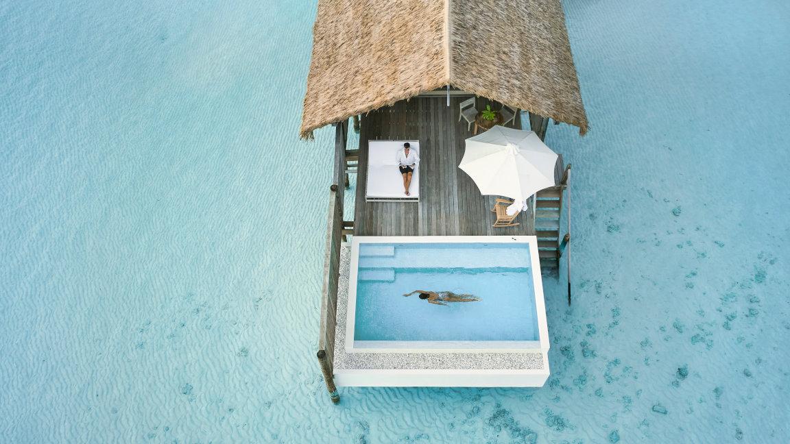 Cocoa Island Wasservilla Malediven