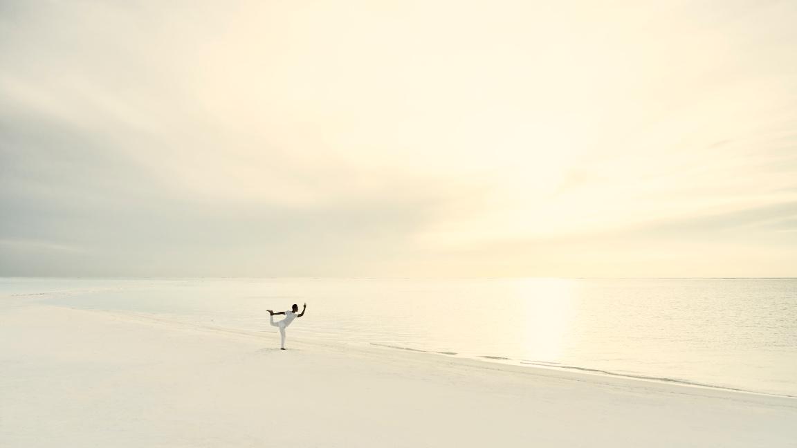 Cocoa Island Sandbank-Yoga Malediven