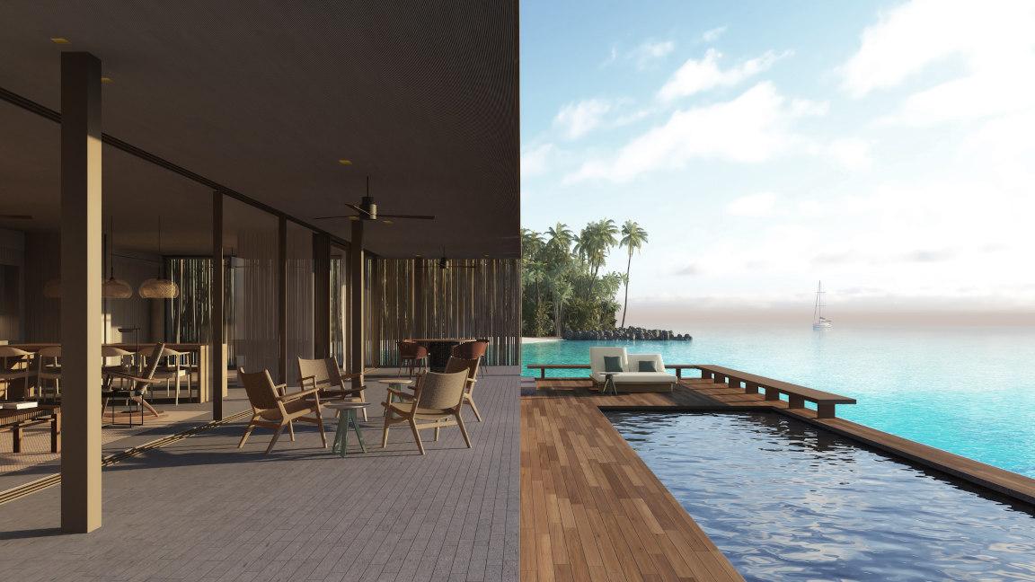 Patina Maldives Resort, Watervilla 2 bedrooms