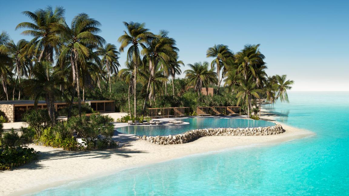 Patina Maldives Resort, Fari Islands, Beach Club