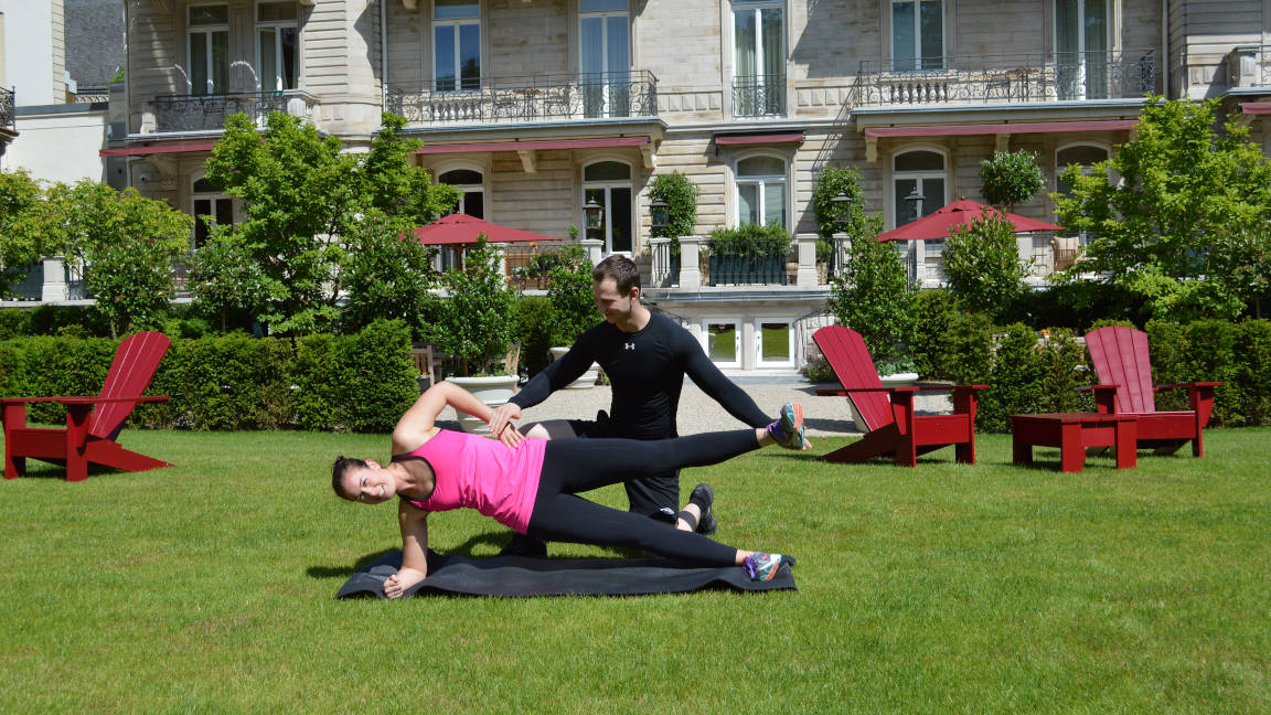 Brenners Park Hotel Villa Stephanie Personaltrainer
