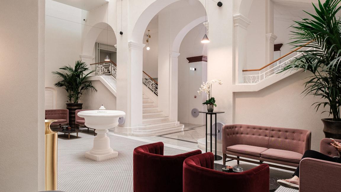 Lounge Hotel Rosselli, Malta