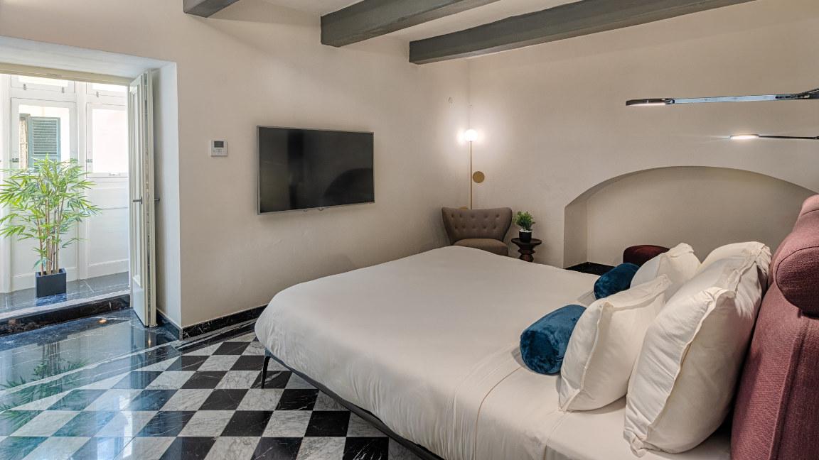 Zimmerbeispiel Hotel Rosselli, Malta