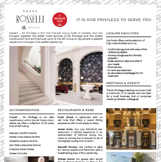 Hotel Rosselli Malta