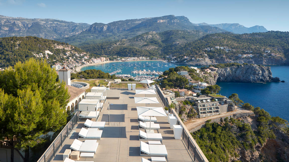 Mallorca -Jumeirah-Port-Soller-Tramuntana-Terrace-And-Port