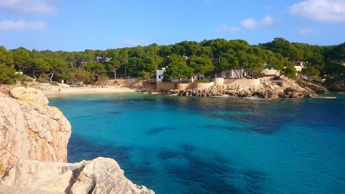 Strandbucht auf Mallorca